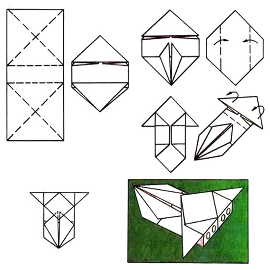Оригами как сделать из бумаги машинку